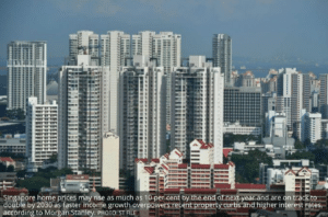 Singapore housing curbs won't cool prices, sengkang condo